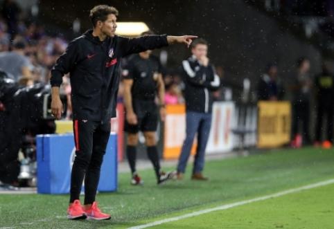 """D. Simeone: """"Felixas ir Ronaldo yra du skirtingi žaidėjai"""""""