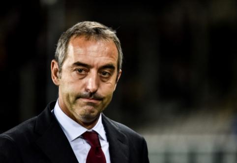 """Fanų pasipiktinimą suprantantis P. Maldini: """"Mes vis dar tikime treneriu"""""""