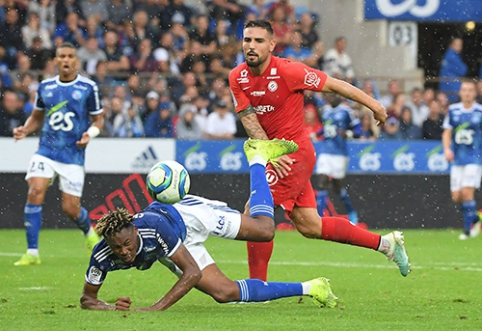 """Ligue 1"": ""Strasbourg"" palaužė ""Montpellier""."