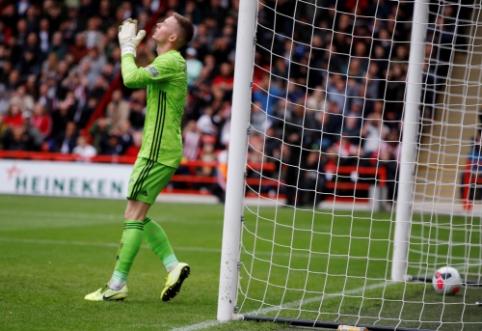 """""""Sheffield Utd"""" vartininko klaida nulėmė dar vieną """"Liverpool"""" pergalę"""
