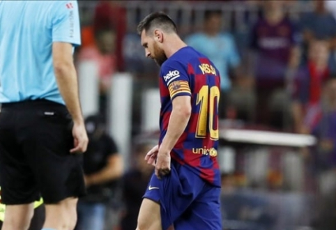 L. Messi nenustatytam laikui krenta iš rikiuotės