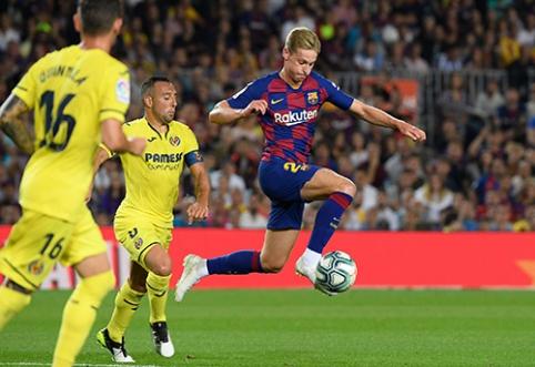 """F.De Jongas: galėjau išvykti į """"Man City"""" ar PSG"""