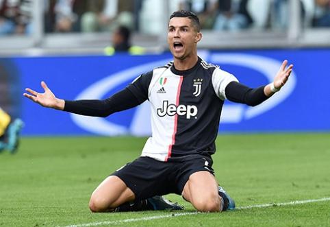 """""""Juventus"""" direktorius: esame nusivylę, jog C.Ronaldo negavo prizo"""