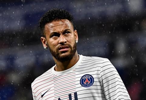 PSG panoro pratęsti kontraktą su Neymaru