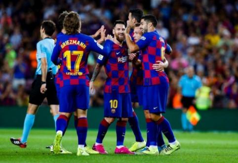 """""""Barcelona"""" savo aikštėje įrodė pranašumą prieš """"Villarreal"""""""