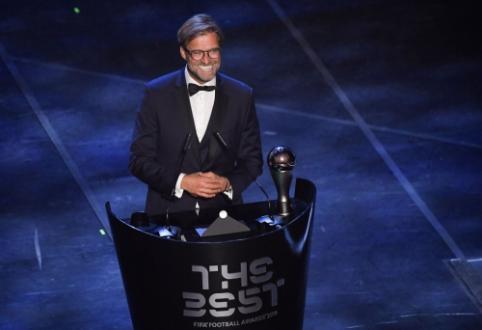 J. Kloppas – geriausias metų treneris