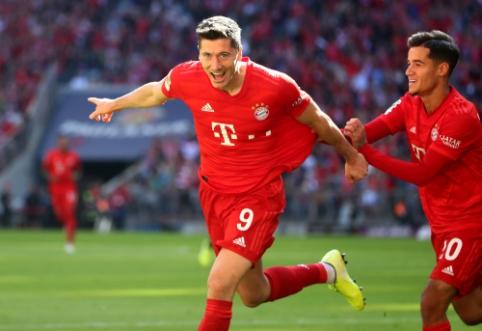 """""""Bayern"""" sutriuškino mažumoje likusią """"Koln"""" ekipą"""