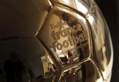 """""""France Football"""" metų apdovanojimuose – nauja nominacija"""