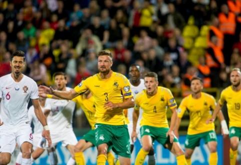 FIFA reitinge – Lietuvos rinktinės nuosmukis