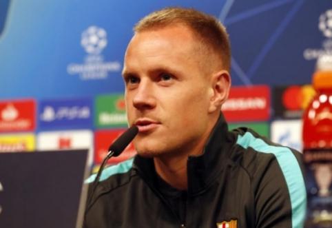"""Ter Stegenas: """"Barcelona"""" turi pasimokyti iš pastarųjų metų klaidų"""""""