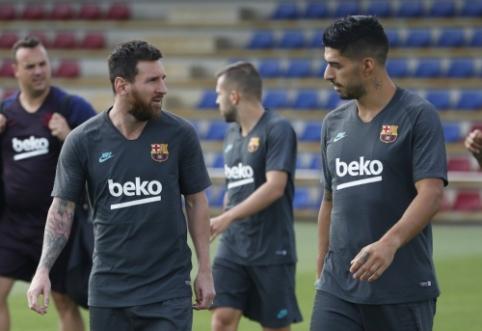 """Geros žinios """"Barcelona"""" stovykloje: L. Messi išvyko į Dortmundą"""