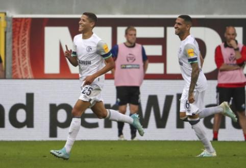 """""""Freiburg"""" ir """"Schalke"""" šventė lengvas pergales Vokietijoje"""