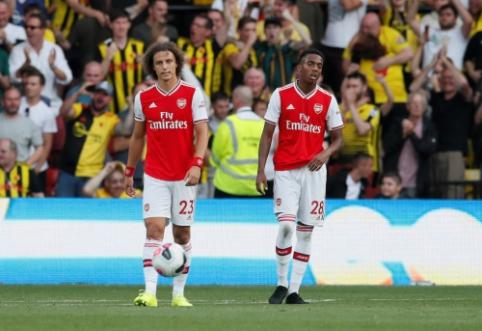 """Dviejų įvarčių deficitą panaikinęs """"Watford"""" tik per plauką liko nuo pergalės prieš """"Arsenal"""""""