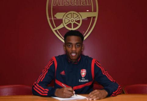 """""""Arsenal"""" susiejo ateitį su jaunuoju J. Willocku"""