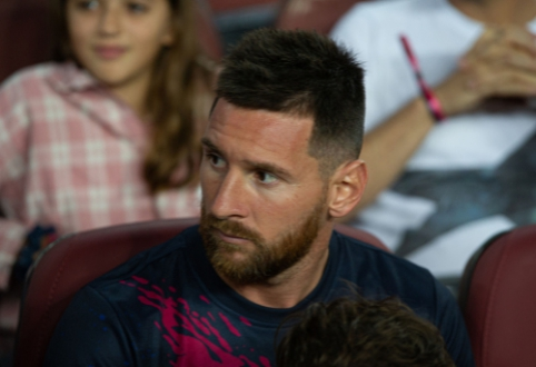 """L. Messi nepadės """"Barcai"""" rungtynėse su """"Valencia"""""""