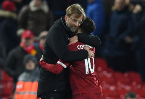 """P. Coutinho: """"Kloppas yra tiesiog nuostabus treneris"""""""