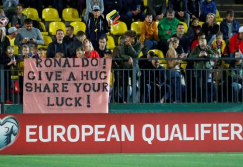C. Ronaldo šou Lietuvoje: internautai šaipėsi iš įvarčių, o kiti skaičiavo rekordus