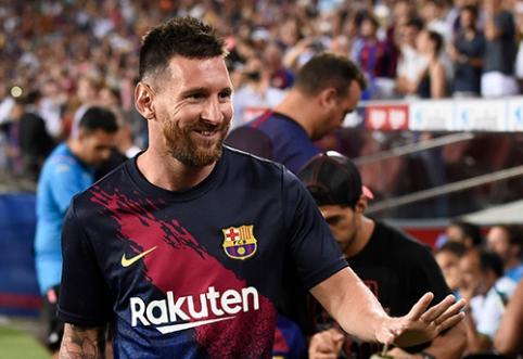 """Barcelona"" siūlo L.Messi gyvenimo trukmės kontraktą"