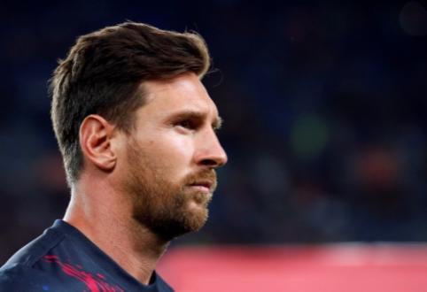"""G. Pique: """"Messi turi pilną teisę palikti Barseloną"""""""