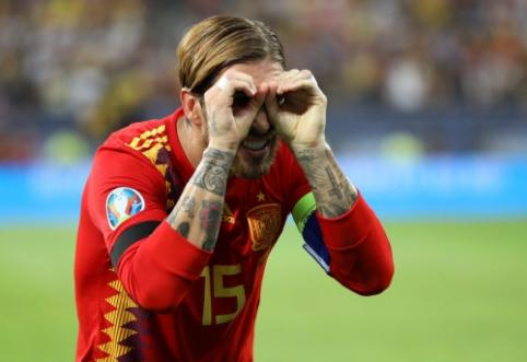 S. Ramosas – rezultatyviausių Ispanijos rinktinės žaidėjų dešimtuke