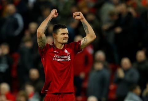 """D. Lovrenas pripažino, kad vasarą norėjo palikti """"Liverpool"""" ekipą"""