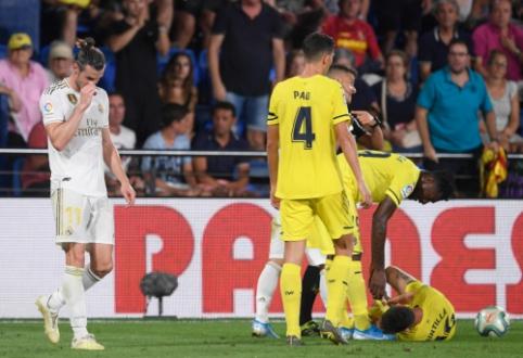 """Iš aikštės pašalintas G. Bale'as iškovojo tašką """"Real"""" komandai"""