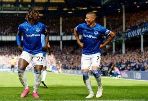 """Richarlisono dublis atvedė """"Everton"""" į pergalę prieš """"Wolves"""""""