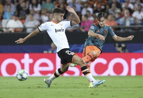 """""""Valencia"""" talentui - turtingų klubų dėmesys"""