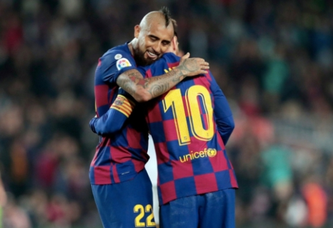 """A. Vidalis: """"Messi atkeliavo iš kitos planetos"""""""