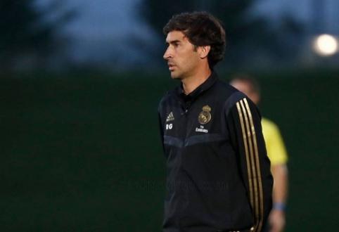 """Raulis mato save Madrido """"Real"""" trenerio kėdėje"""
