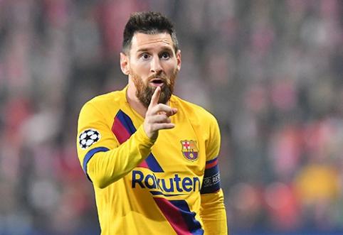 """L.Messi nekeistų """"Barcelona"""" trofėjų į pasaulio čempiono titulą"""