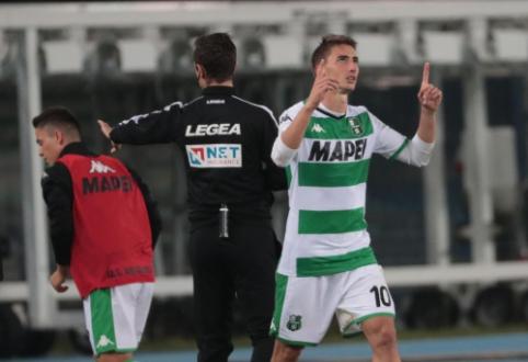 "Italijoje - minimali ""Sassuolo"" ekipos pergalė"