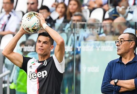 M.Sarri: net ir C.Ronaldo yra reikalingas poilsis
