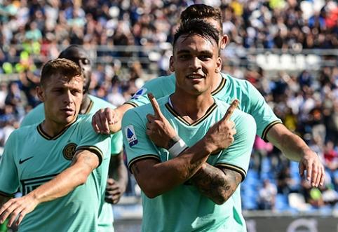 """Inter"" ekipa bando pratęsti kontraktą su L.Martinezu"
