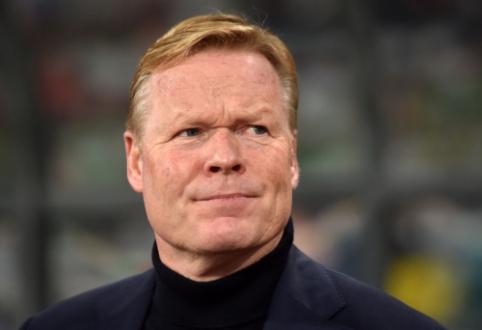 """""""Barceloną"""" dominantis Koemanas kitą vasarą turės galimybę palikti Nyderlandų rinktinę"""