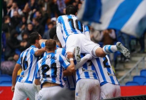 "Ispanijoje – ""Real Sociedad"", ""Sevilla"" ir ""Villarreal"" klubų pergalės"