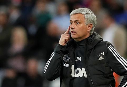 """Z.Ibrahimovičius: J.Mourinho vis dar yra """"Ypatingasis"""""""