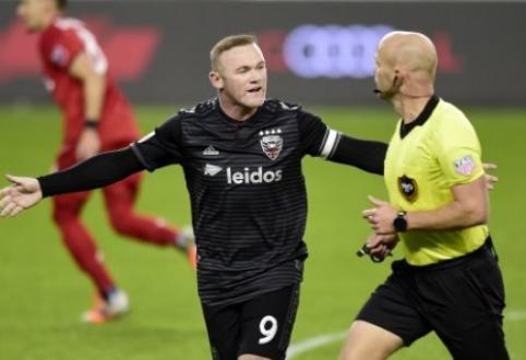 W. Rooney amerikietiškas nuotykis baigėsi kukliai