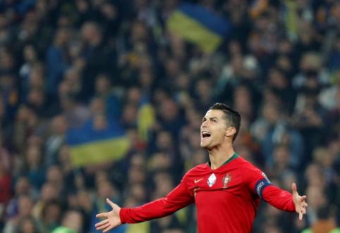 """J. Mendesas lygių nemato: """"Ronaldo – geriausias visų laikų futbolininkas"""""""
