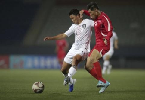 Šiaurės Korėja prieš Pietų Korėją: keisčiausias futbolo derbis
