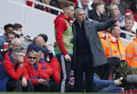 """S. McTominay'us: """"Mourinho visada užims specialią vietą mano širdyje"""""""