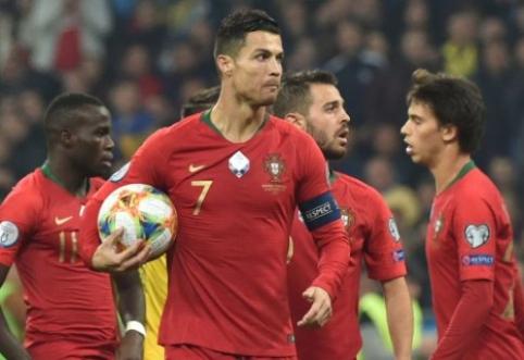 """C. Ronaldo: """"Nesivaikau rekordų, jie susiranda mane patys"""""""