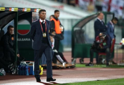 """Bulgarų treneris: """"Įžūlūs buvo ir Anglijos sirgaliai"""""""