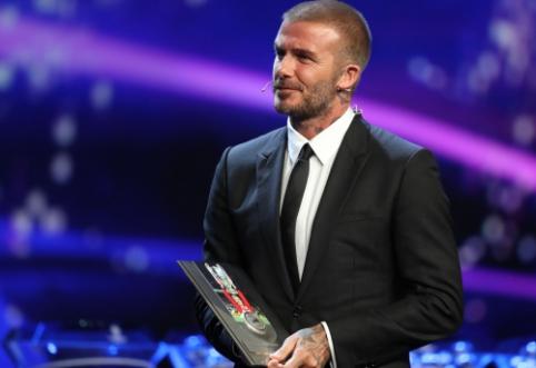 D.Beckhamas pagyrė rekordą pasiekusį S.Ramosą