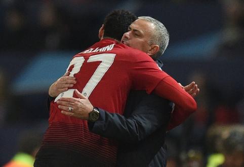 """M. Fellaini: """"United"""" per anksti atleido Mourinho"""""""