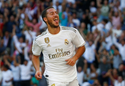 """A. Wengeras: """"Hazardas nėra Ronaldo – jis per sezoną neįmuš po 50 įvarčių"""""""