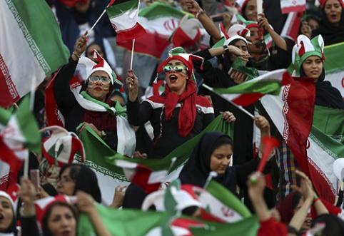 Irano futbole – istorinis įvykis
