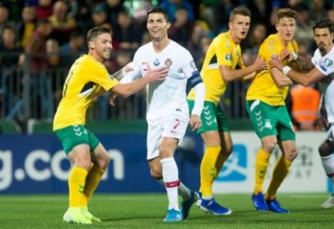 S. Mikoliūnas prisiminė pirmą akistatą su C. Ronaldo prieš 15 metų