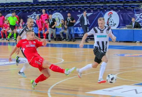 """Futsal Čempionų lyga: dužusios """"Vyčio"""" viltys ir piniginės baudos"""