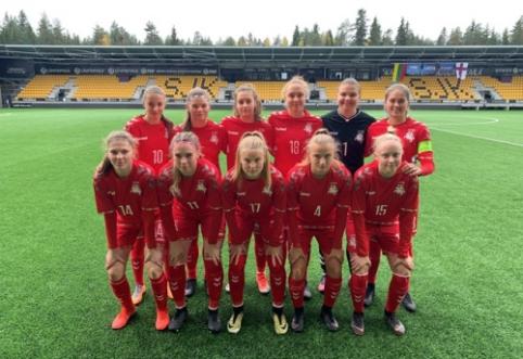 Merginų rinktinė per plauką nusileido Farerų salų komandai